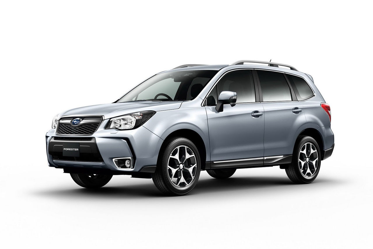 Subaru visar upp nya Forester