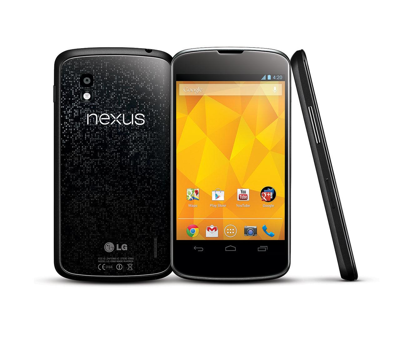 Nexus 4 till Sverige i slutet av november?