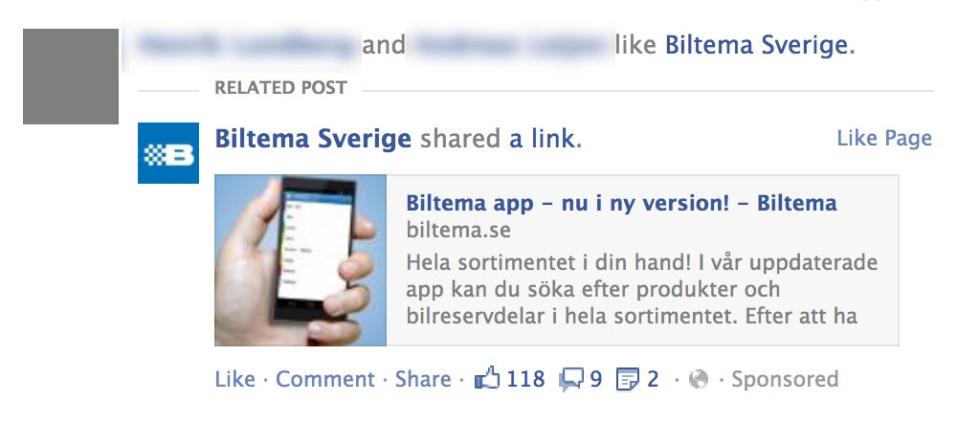 Så slipper du göra reklam åt företag på Facebook