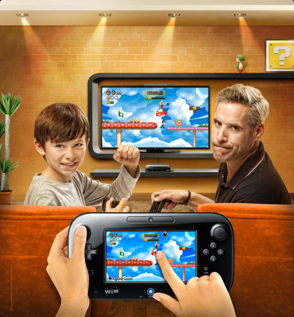 Systemuppdatering av Wii U på releasedagen