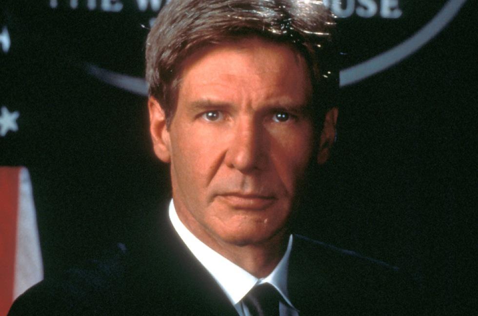 Harrison Ford är favoritpresidenten på film