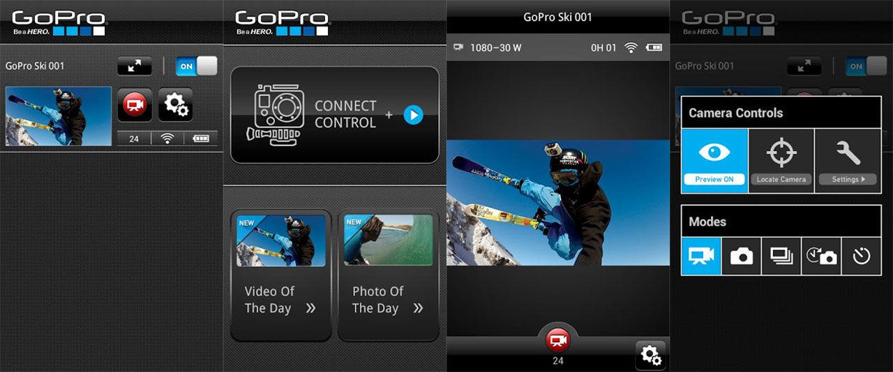 GoPro-app nu även till Android