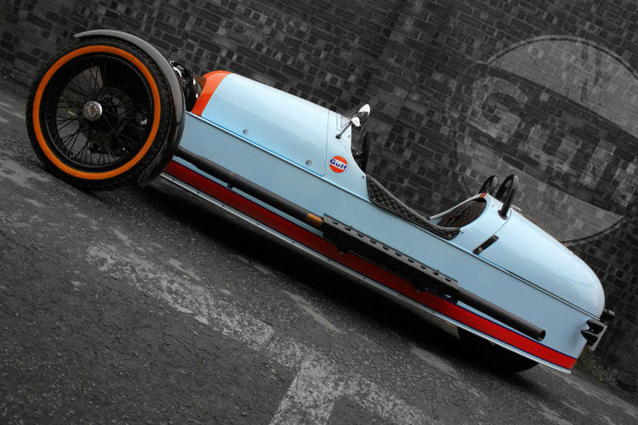 Morgan 3 Wheeler - Gulf Edition