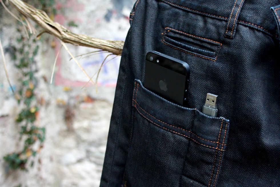 Specialjeans för din iPhone 5