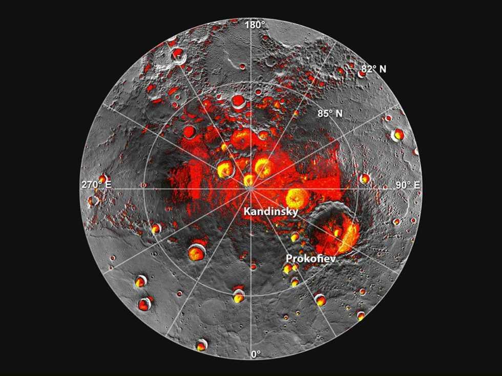 Vatten hittat på Merkurius