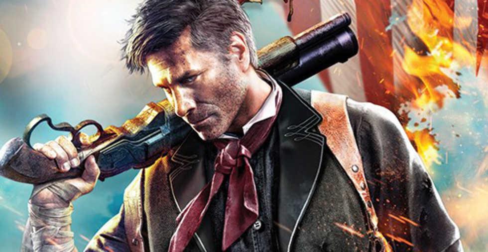 Omslaget till Bioshock Infinite