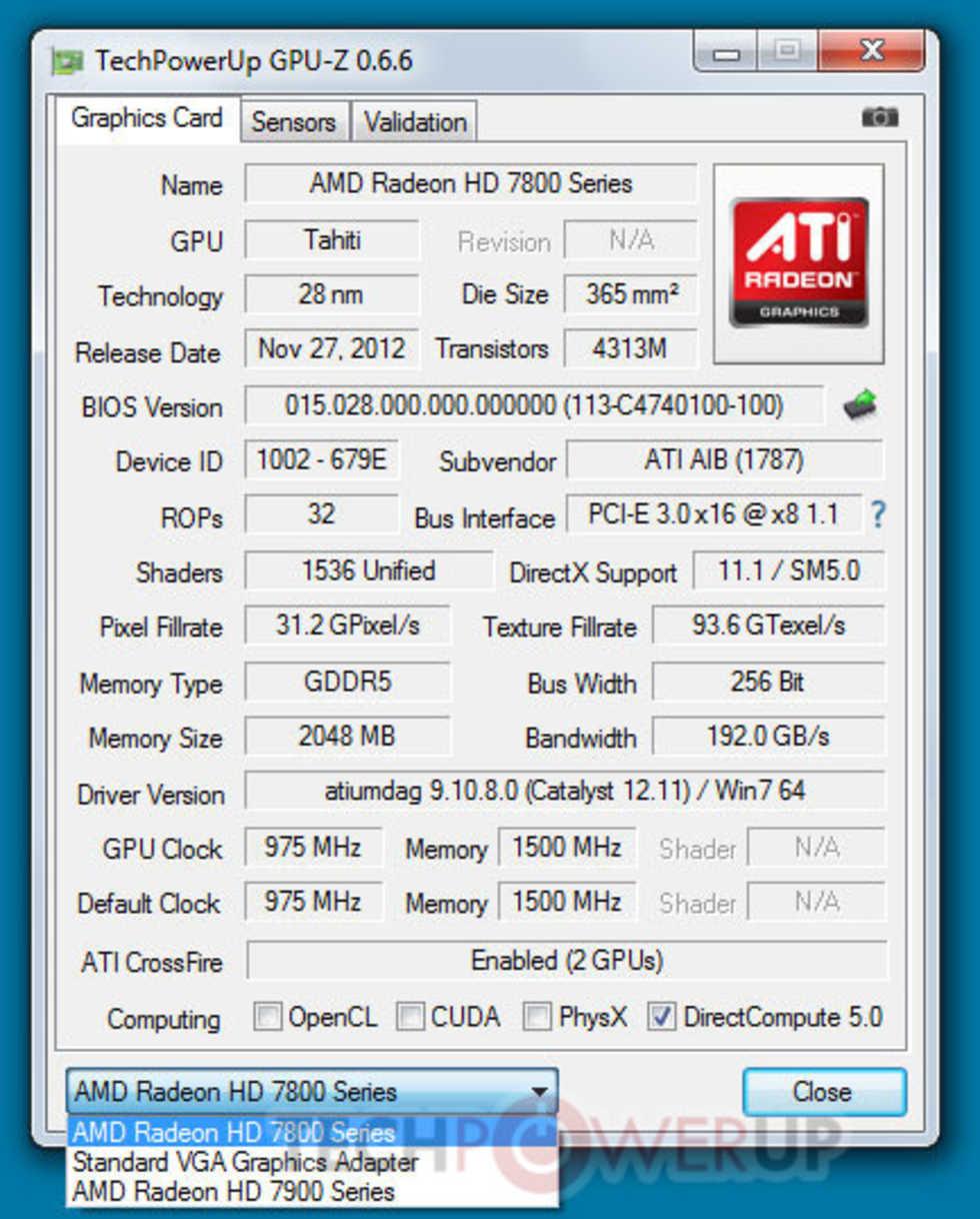 Club 3D HD 7870 jokerCard funkar med Radeon HD 7900-serien