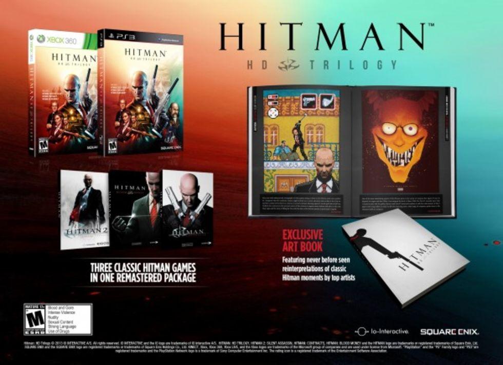 HD-trilogi för Hitman i januari
