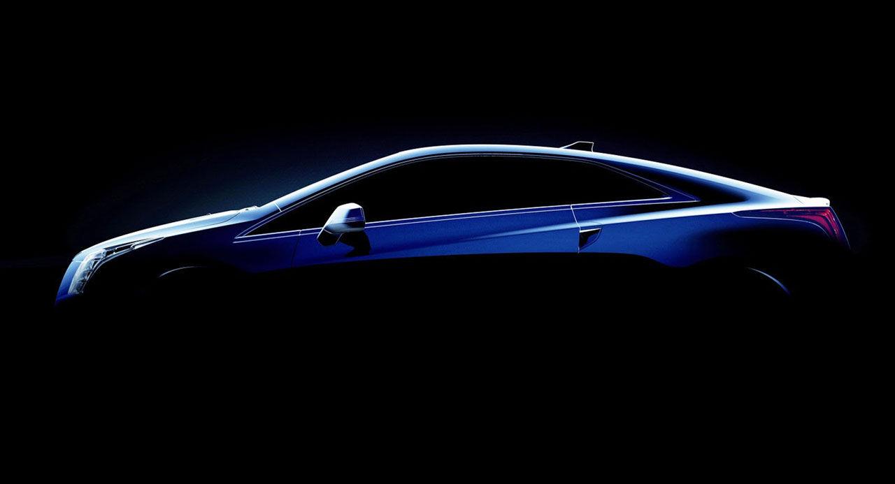 Cadillac hintar ELR Coupé i produktionsform