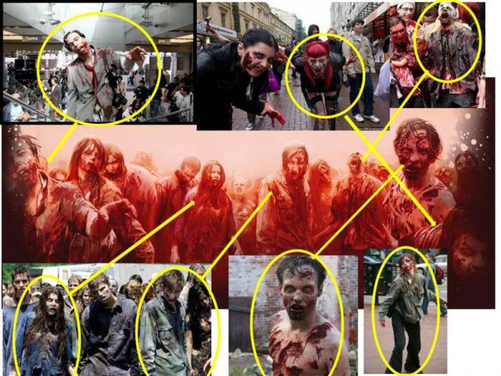 Zombiespelet War Z rippade bilder från Walking Dead