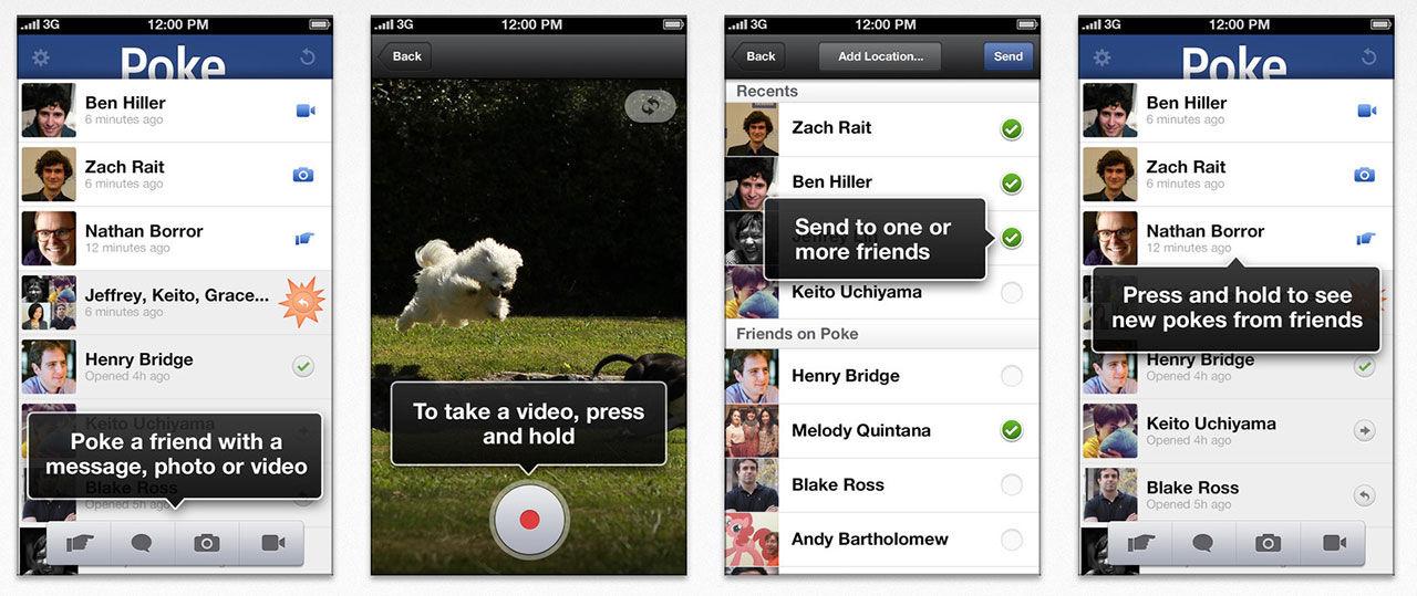 Facebook släpper SnapChat-kopia