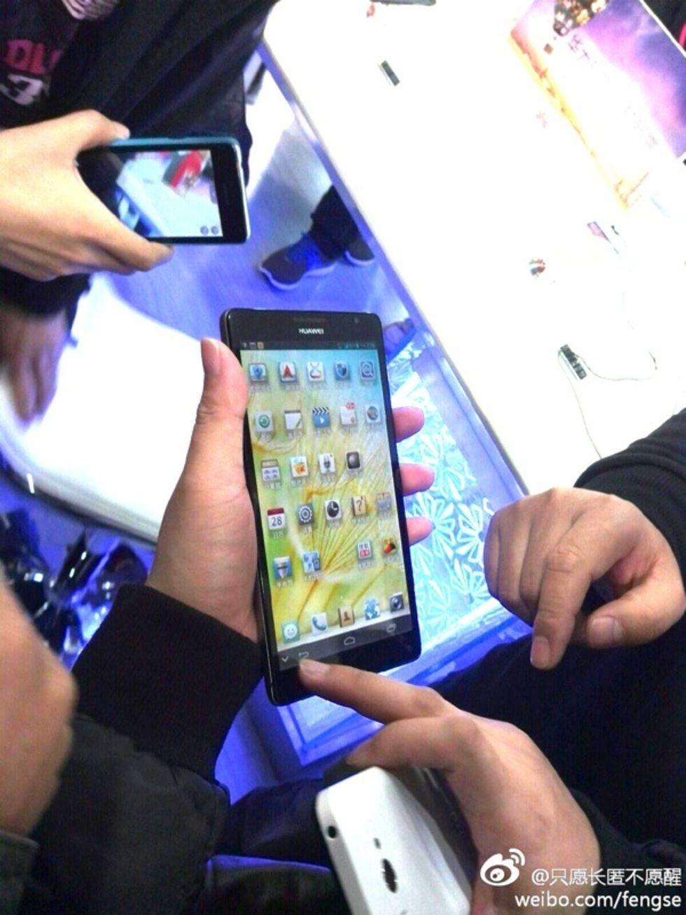 Huawei visar upp jättetelefon