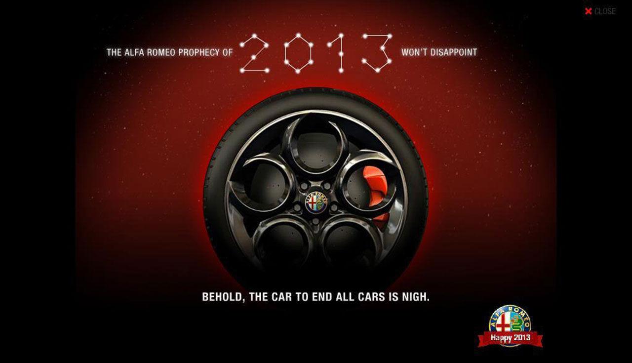 Alfa Romeo 4C dyker upp nästa år