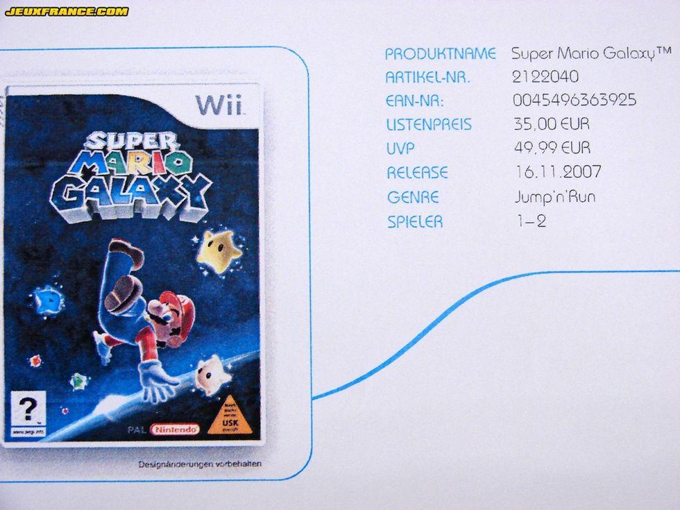Super Mario Galaxy den 16: e november?