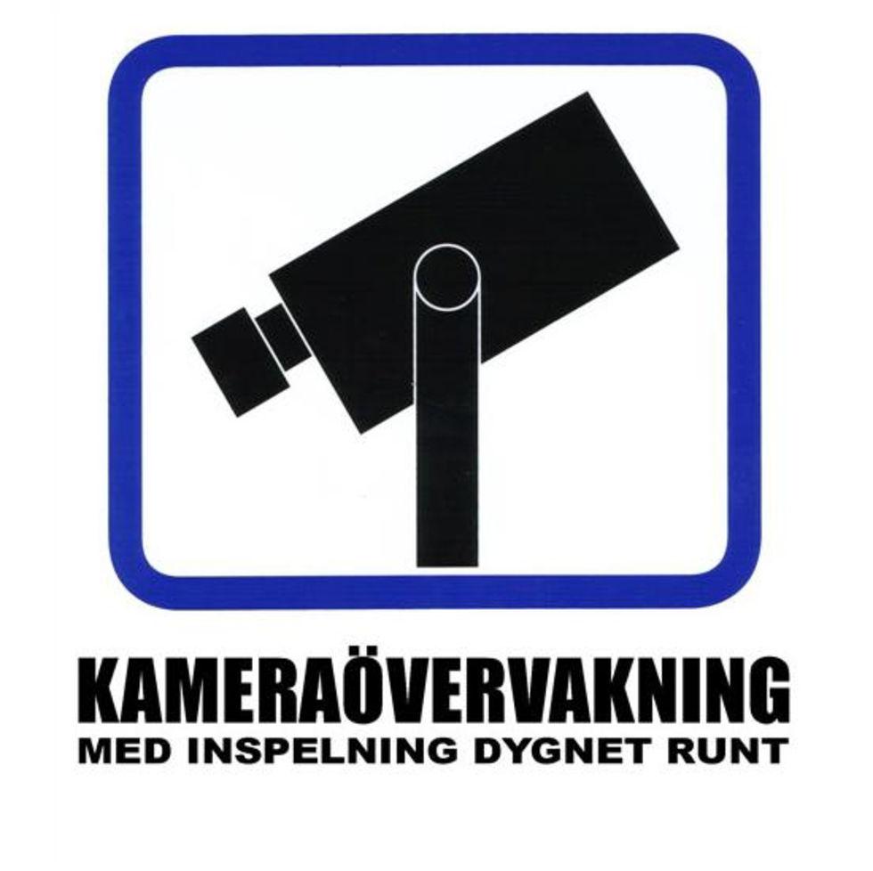 Mycket otillåten kameraövervakning i Sverige