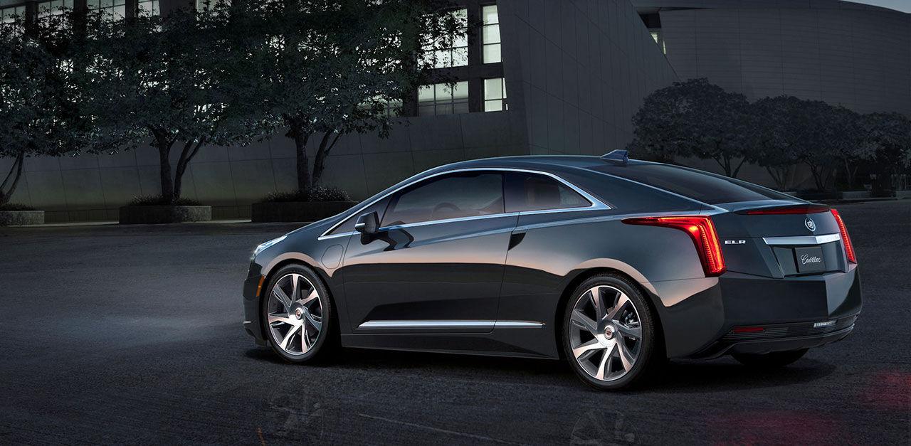 Cadillac täcker av ELR