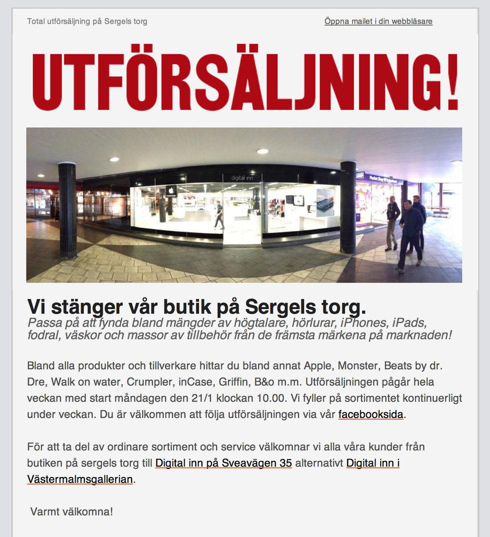 Digital Inn stänger butik