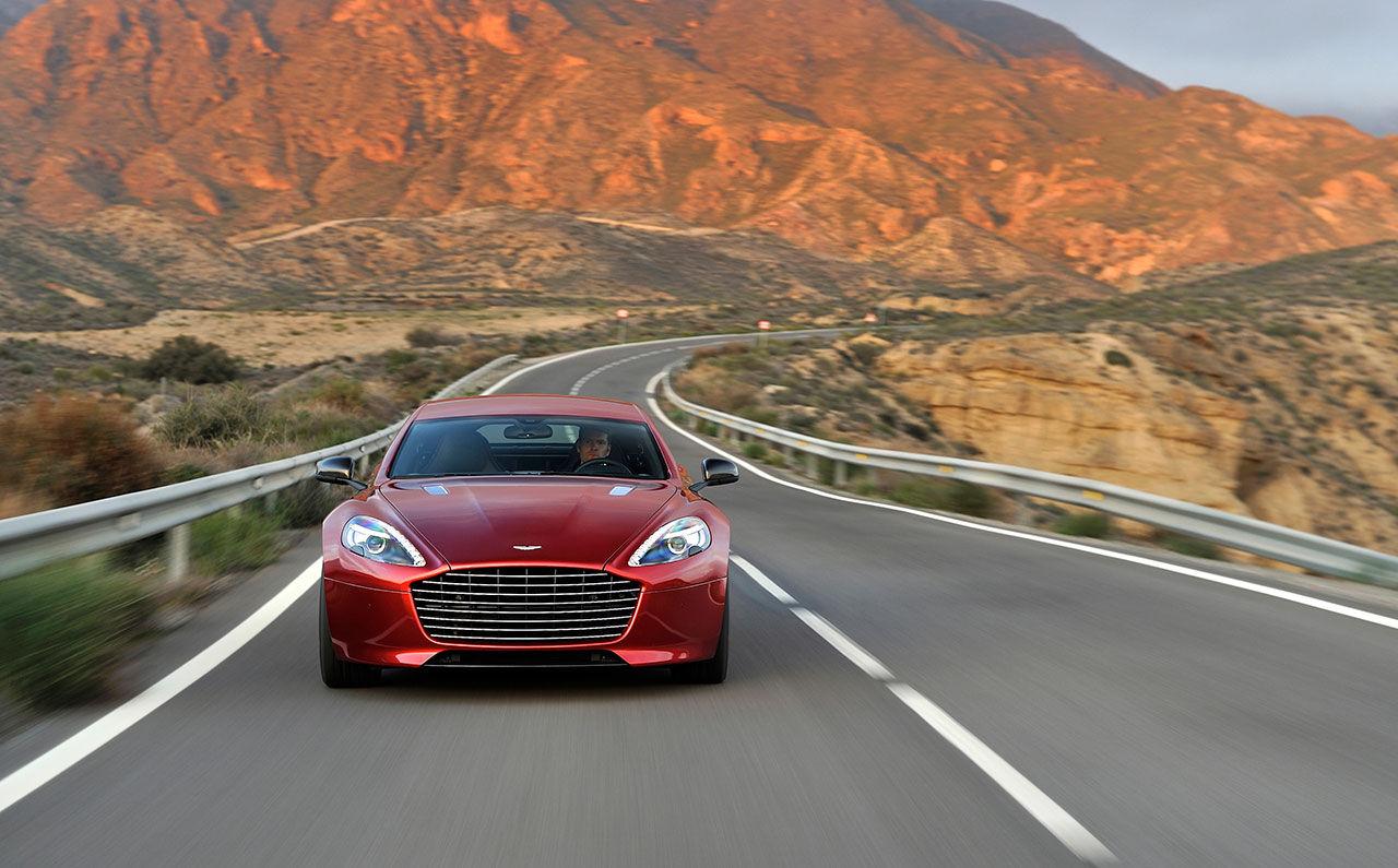 Mer kraft och sportigare look till Aston Martin Rapide S