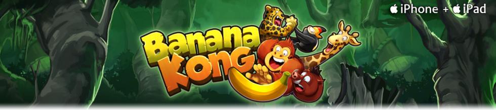 Banana Kong har svingat sig in på App Store