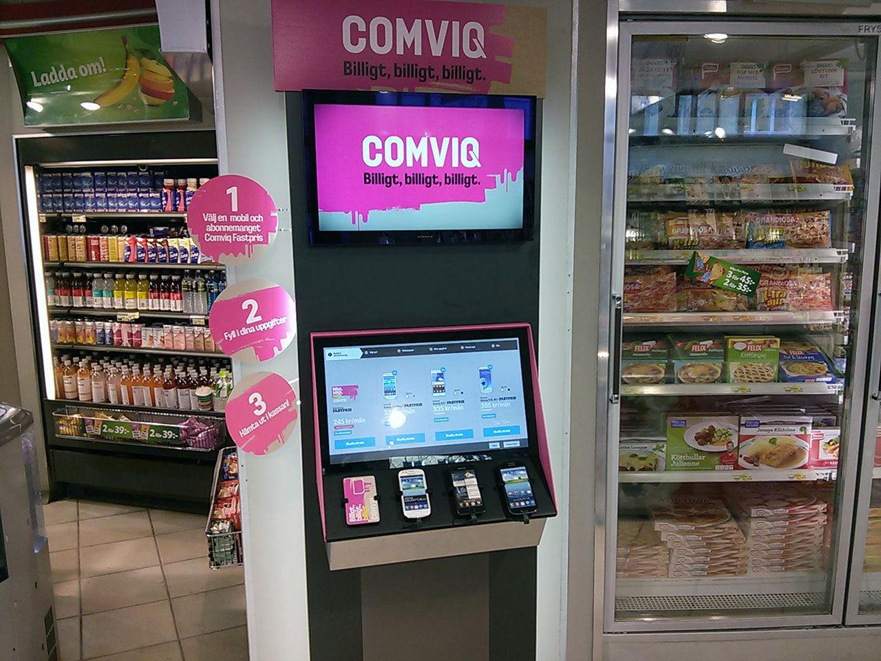 Comviq har börjat kränga mobiler på 7/11