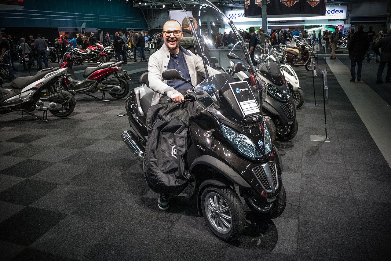 En tur bland motorcyklar