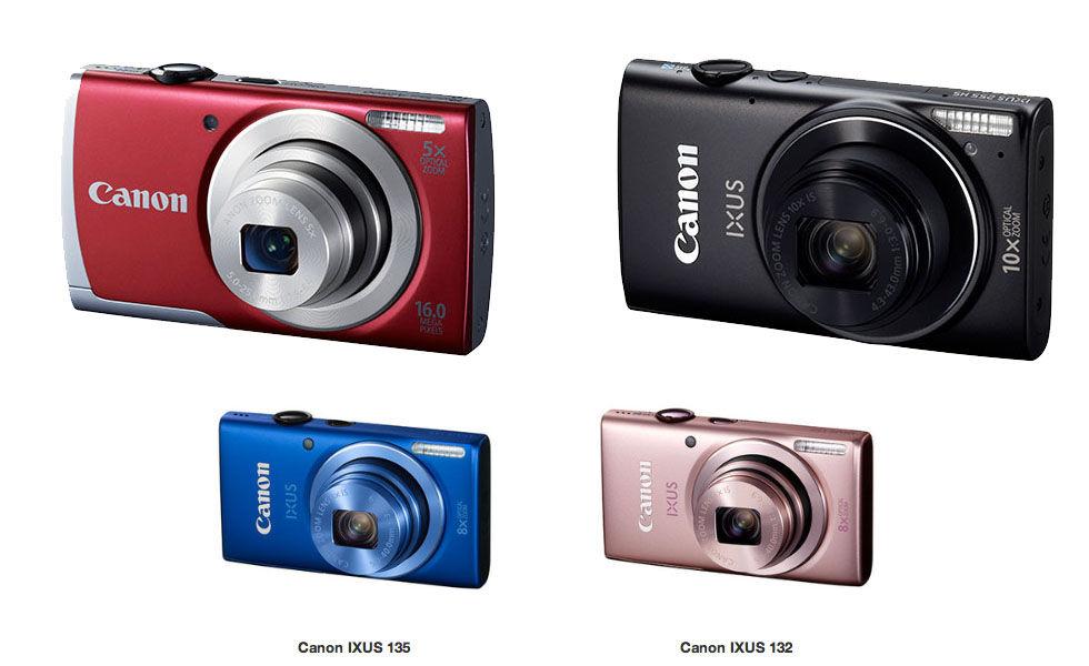 Nya kompaktkameror från Canon