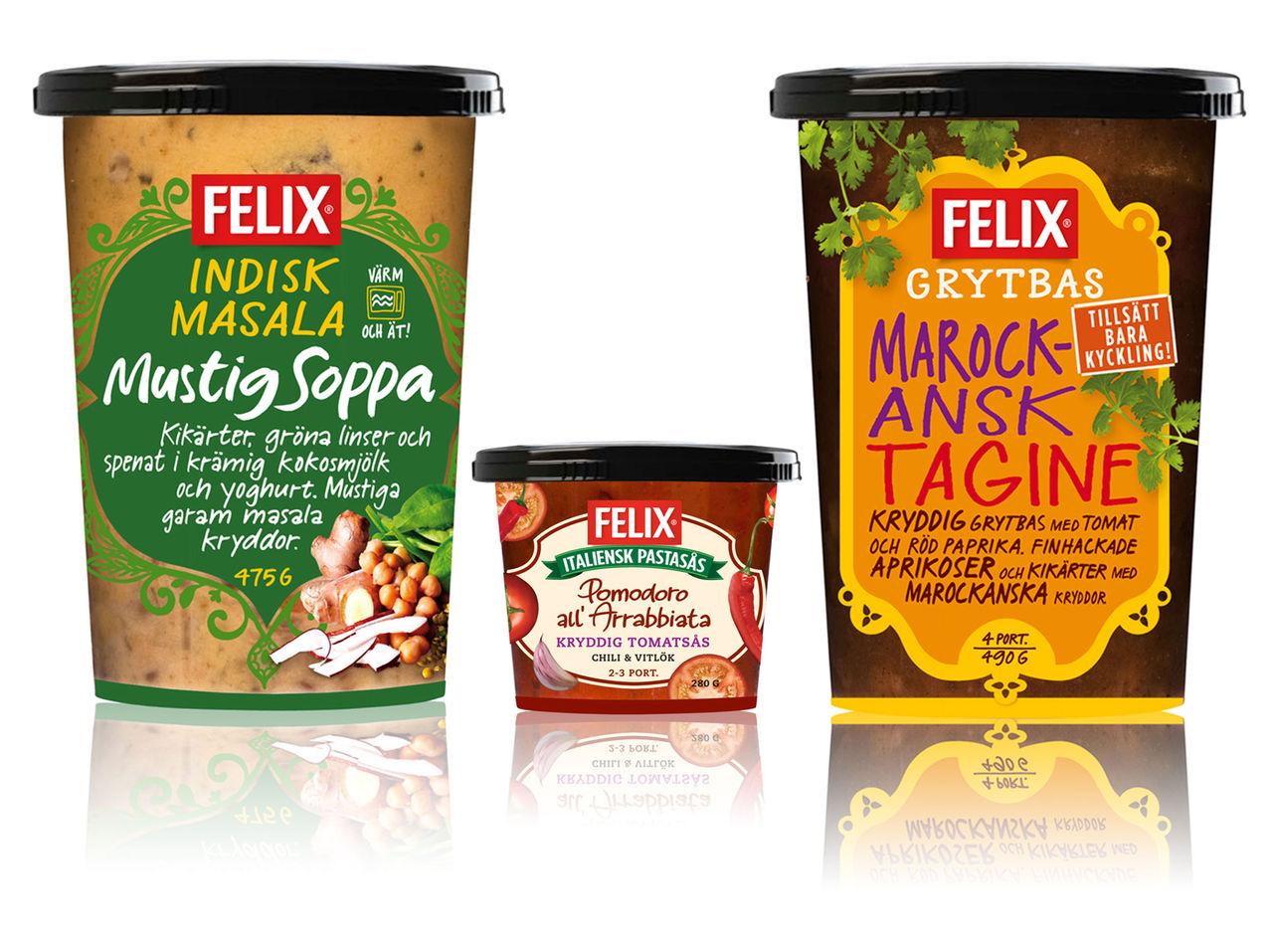 Nya kylda smaker från Felix