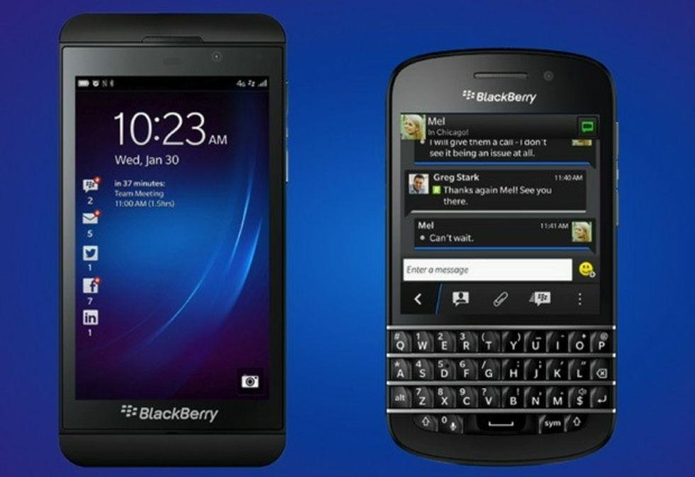Två nya lurar från BlackBerry