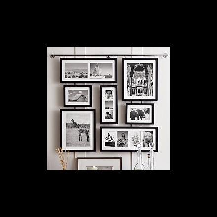 Deluxe Wall Gallery Tavelramar Arrangerar Dina Foton Det