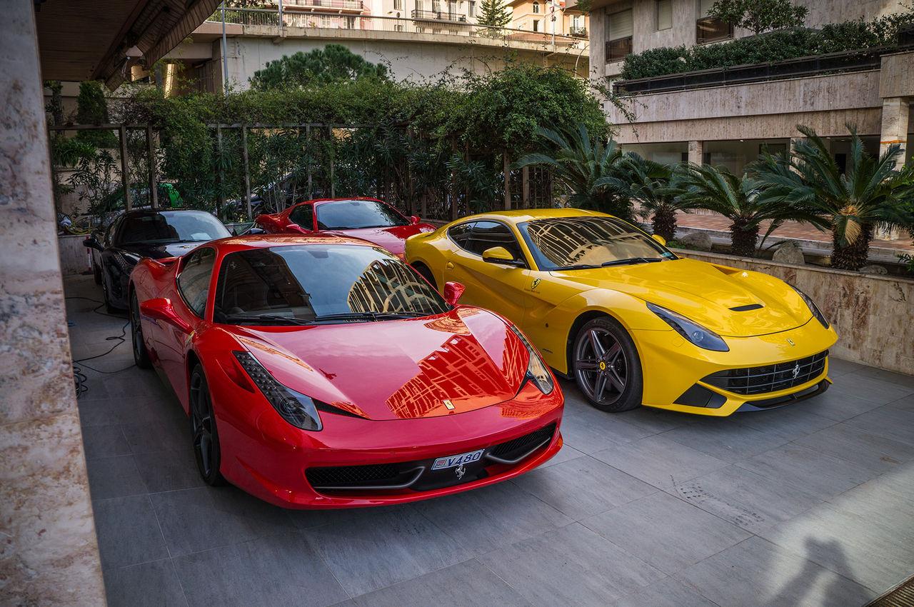 Carspotting i Monaco