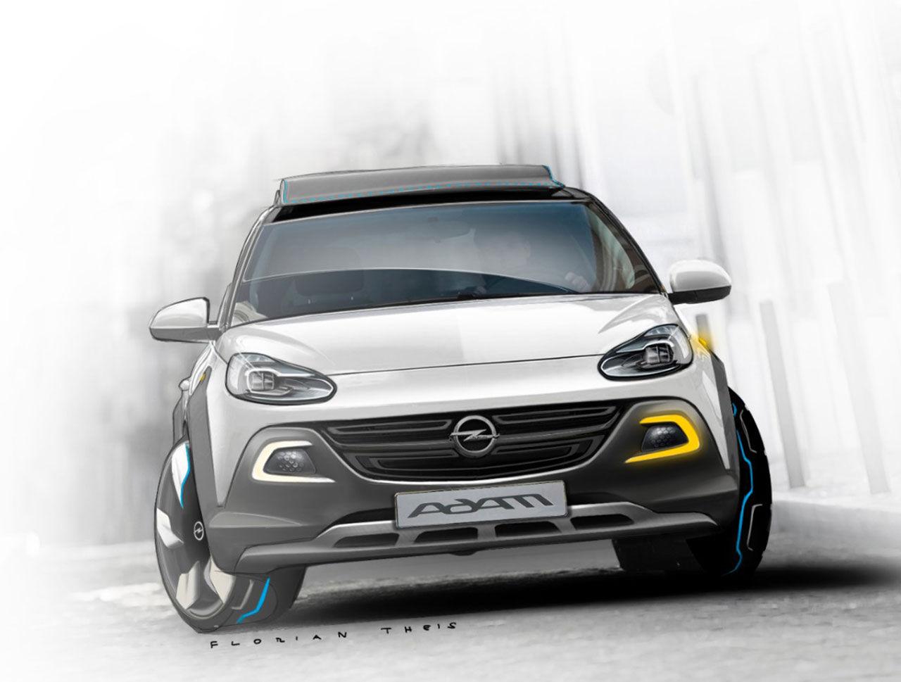 Tuffare Opel Adam med konceptet ROCKS