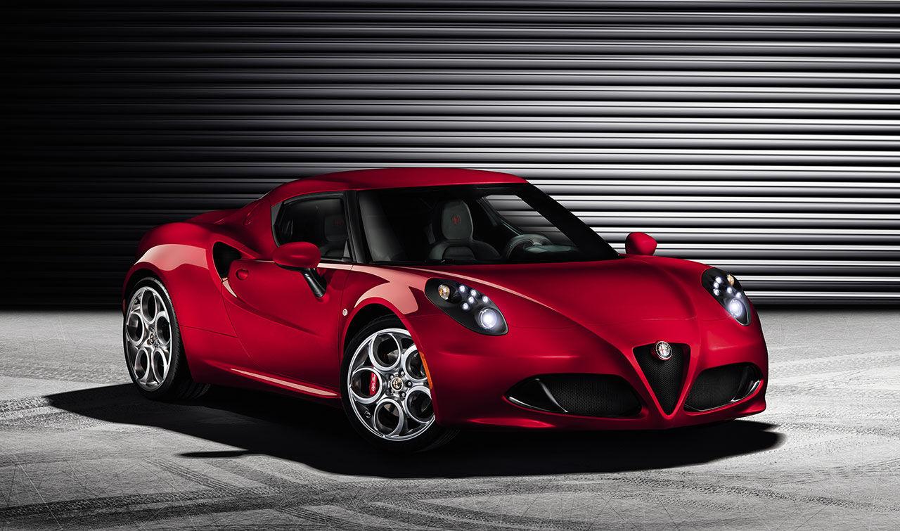Världspremiär för Alfa Romeo 4C