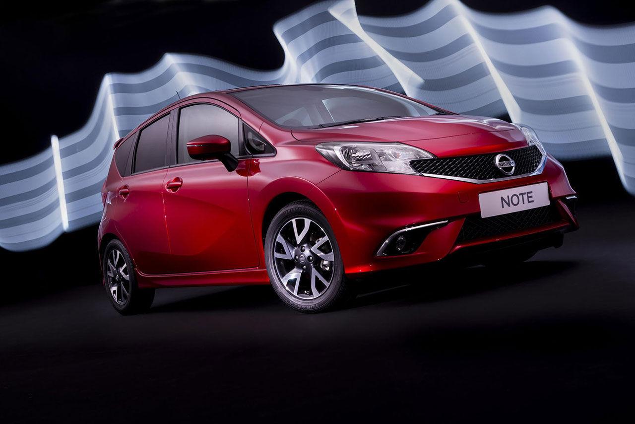 Nissan fräschar upp Note