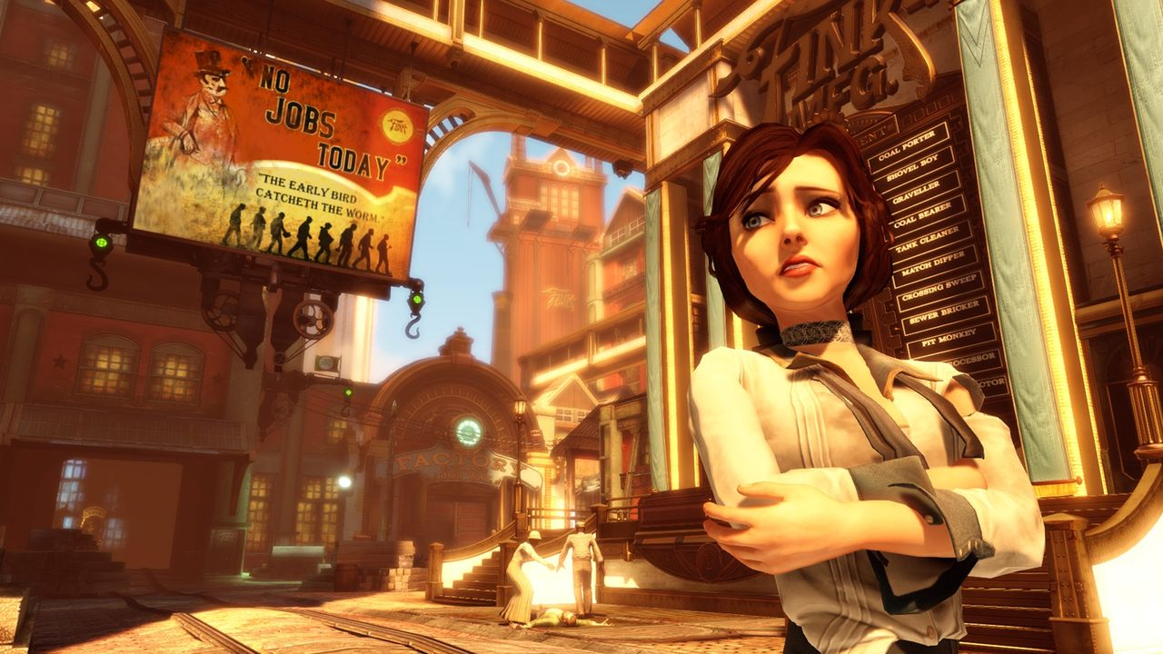 Många idéer plockades bort från BioShock Infinite