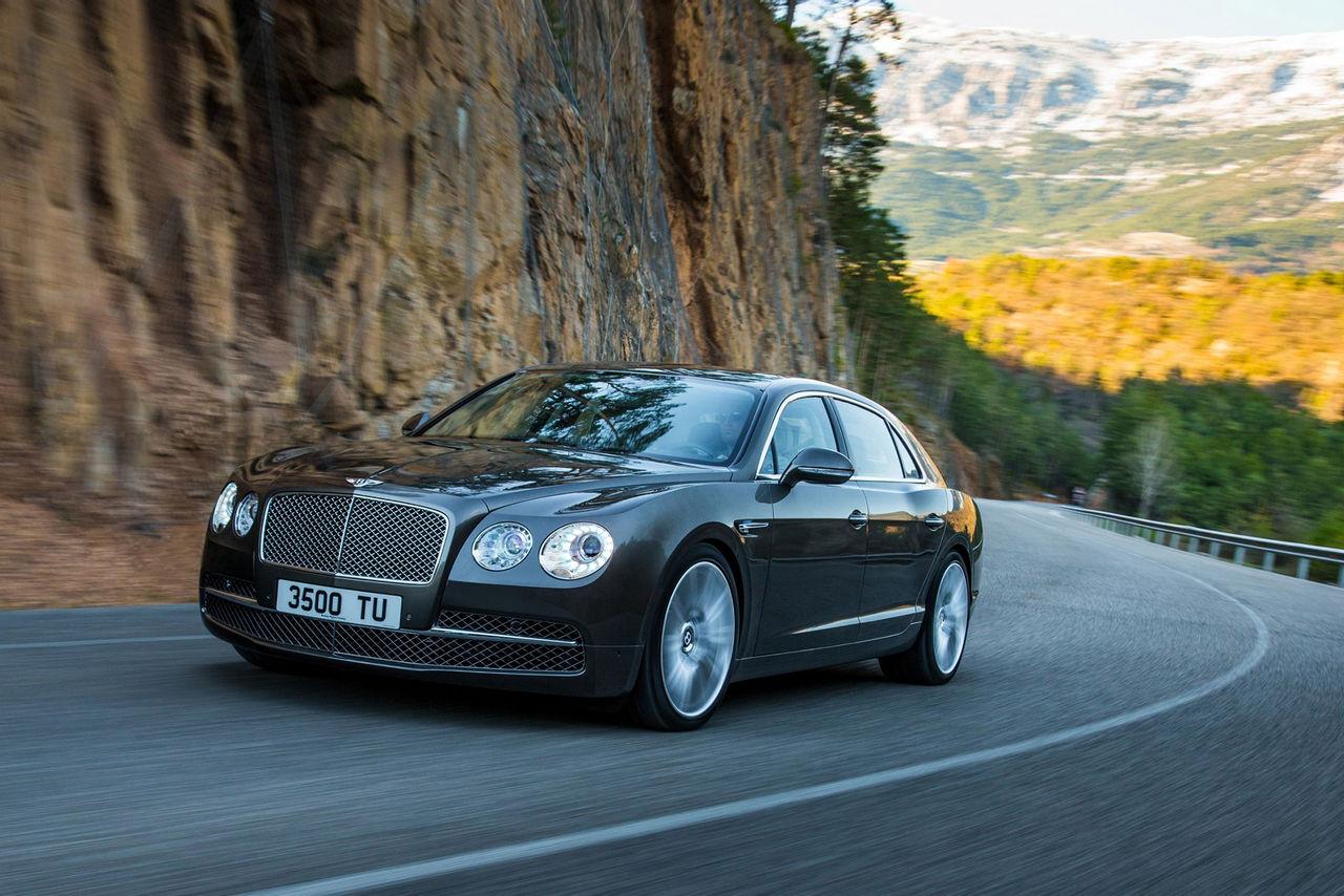 Bentleys nya Flying Spur