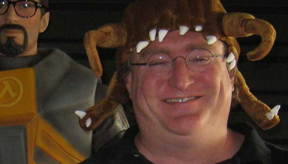 Gabe Newell vinner en BAFTA