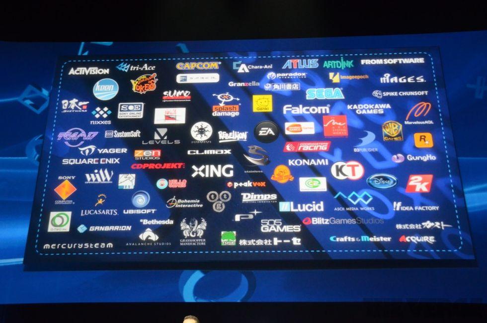 Sony krymper listan med PS4-utvecklare