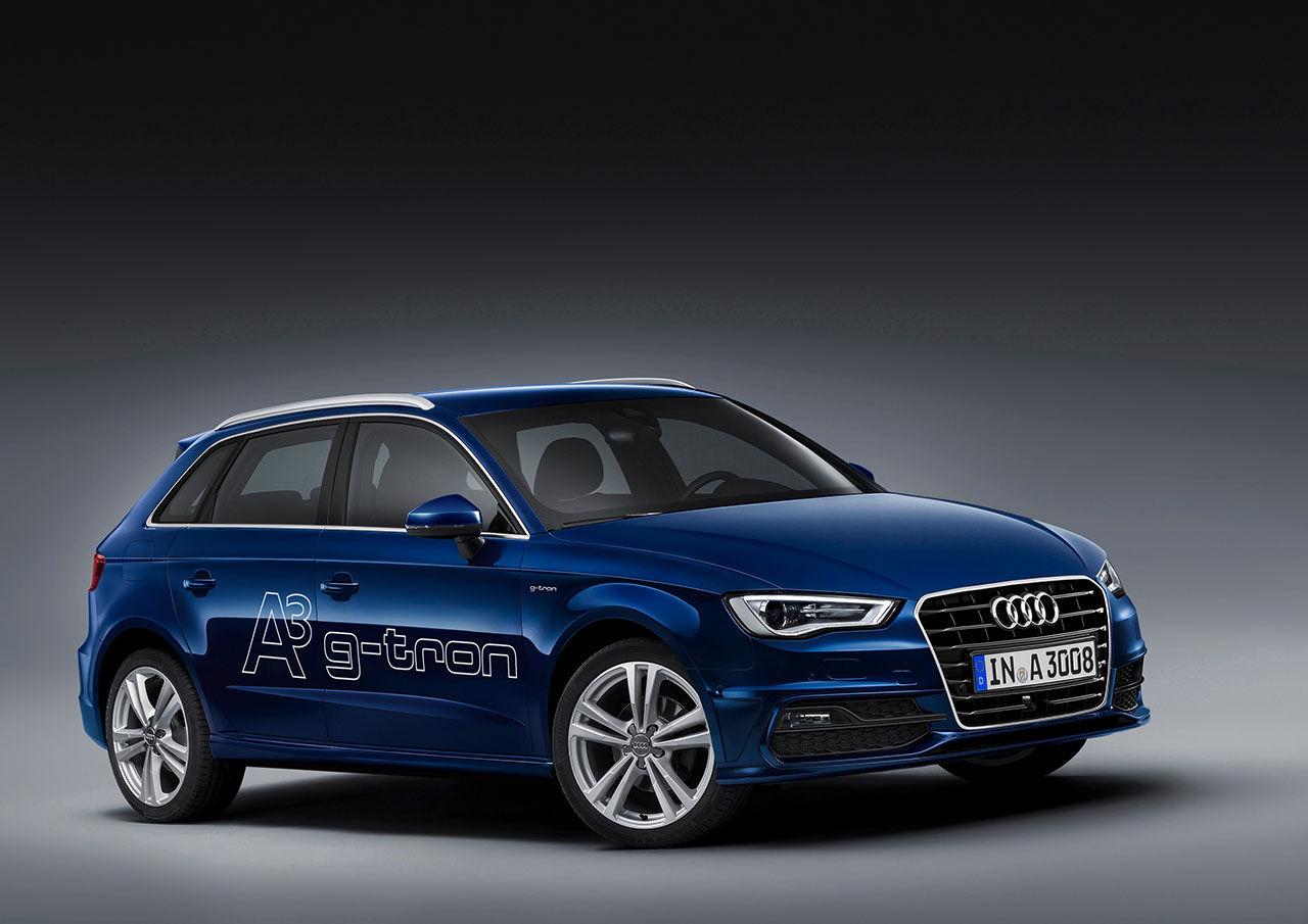Audi presenterar gasdriven A3
