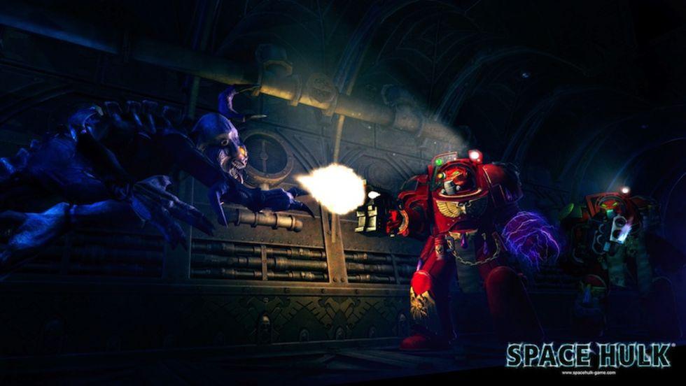 Första bilderna från Space Hulk