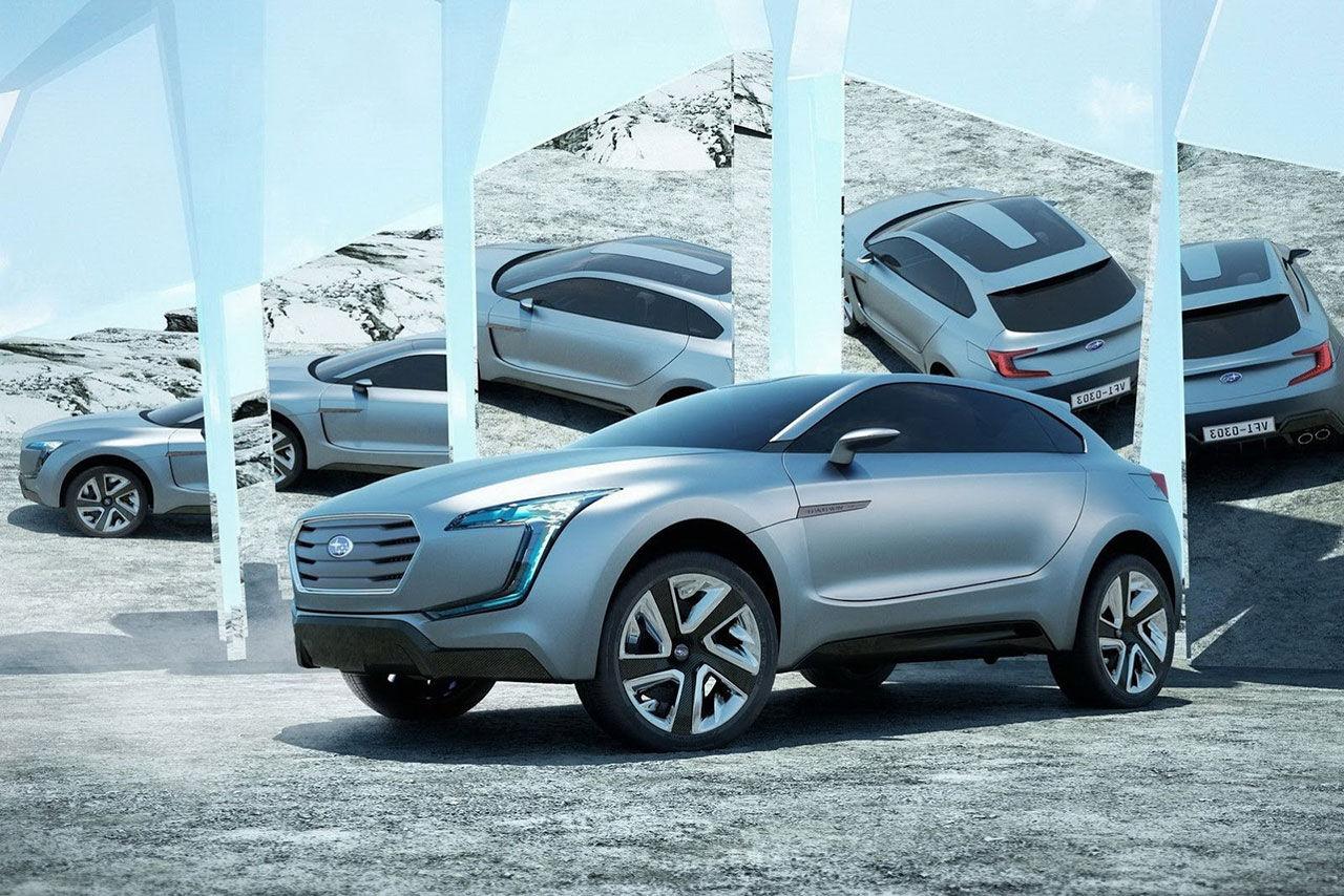 Viziv - Subarus nya dieselhybrid