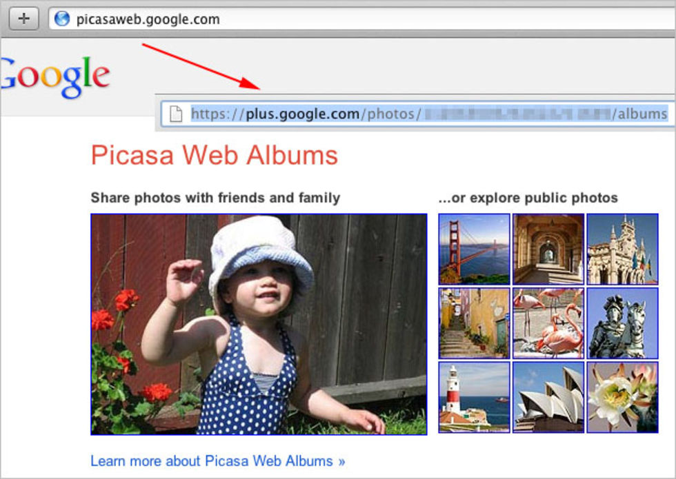 Picasa kommer allt närmre Google+