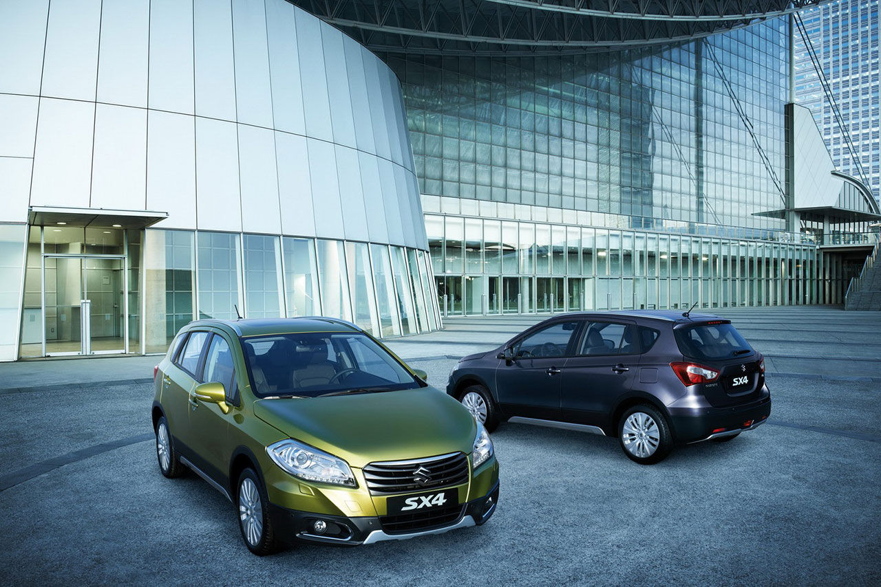 Suzuki S-Cross blev nya SX4