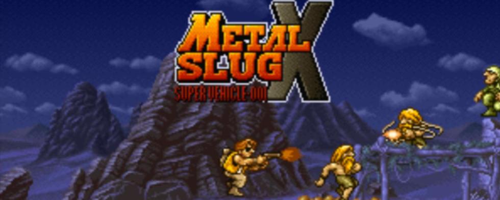 Metal Slug X finns nu för iOS