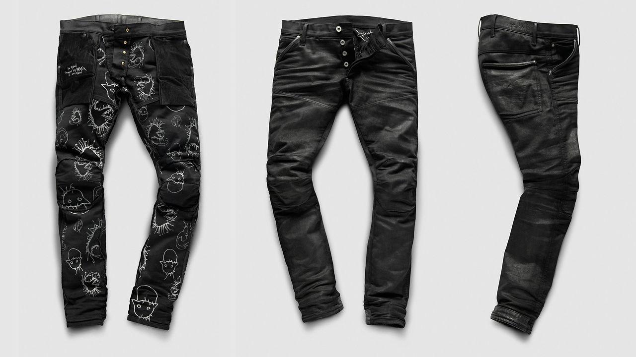 Skrillex och G-Star gör jeans tillsammans