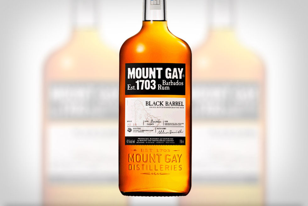 Mount gay xo peat smoke