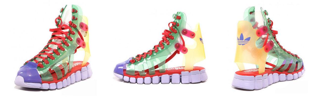 Galna sandaler från Jeremy Scott