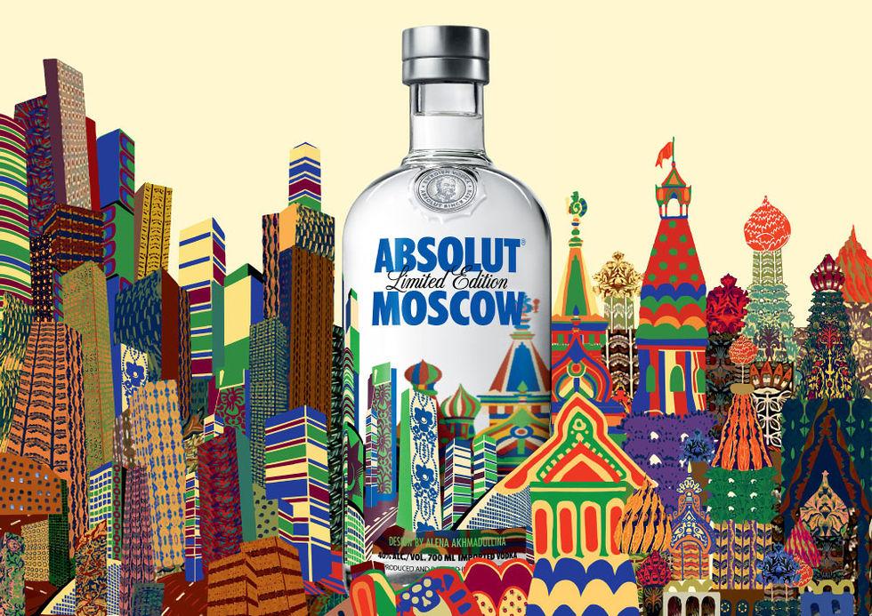 Moskva får sin egen Absolut