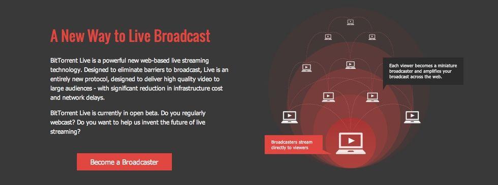 BitTorrent visar upp BitTorrent Live