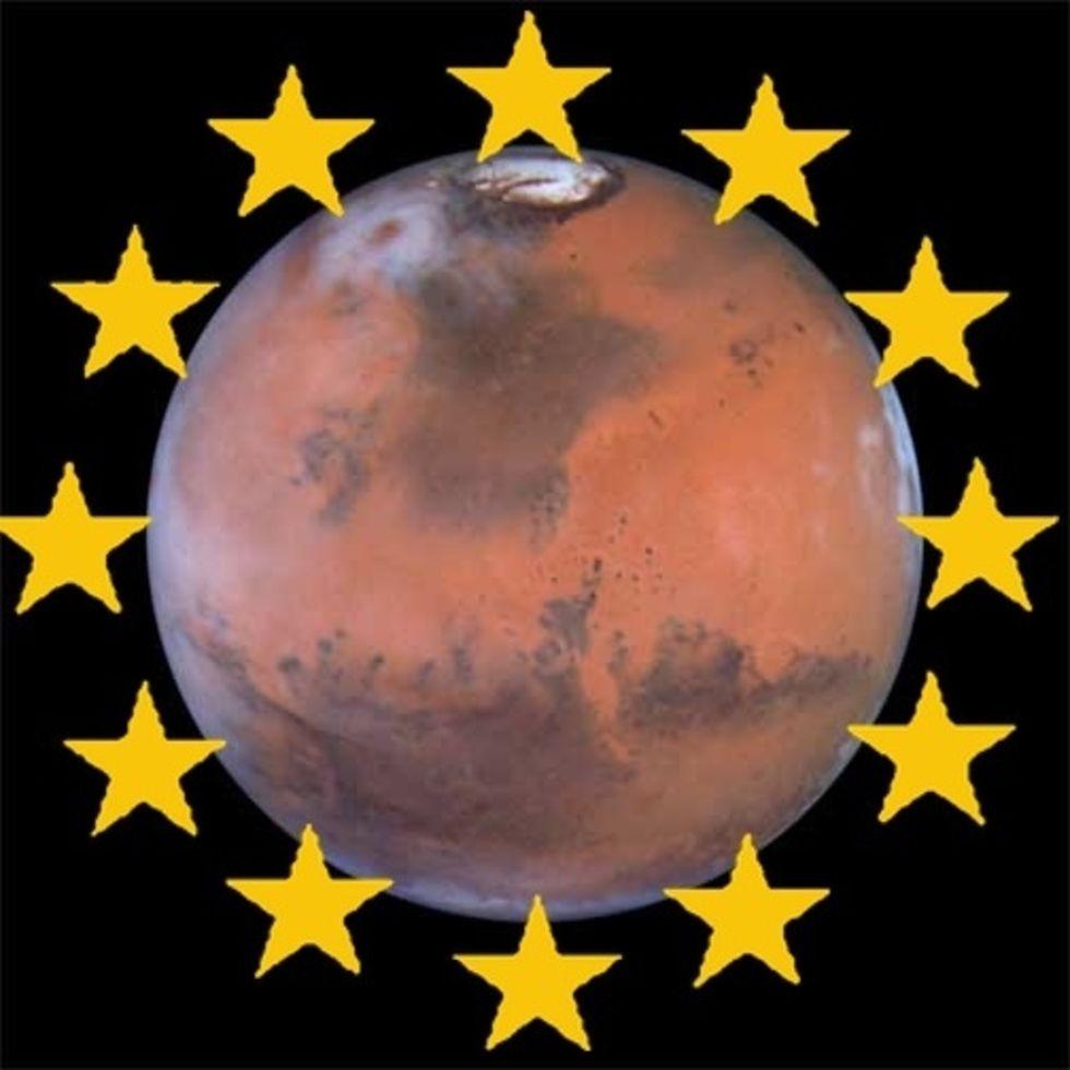 Europa och Ryssland vill till Mars