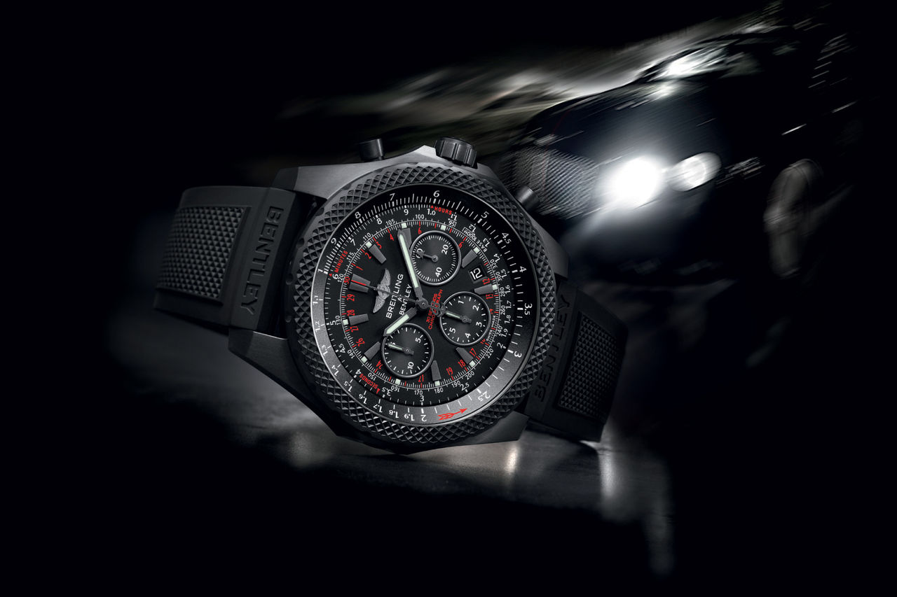 Bentley firar tio år med Breitling